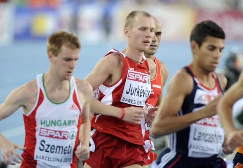 Jurkevičam sestā vieta 1500 metros