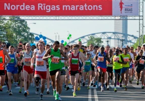 """""""Nordea"""" Rīgas maratona jaunā trase iekļaus arī Brīvības ielas posmu"""