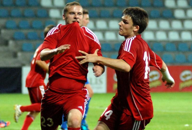"""""""Skonto"""" atspēlējas un ar grūtībām nosargā uzvaru Jelgavā"""