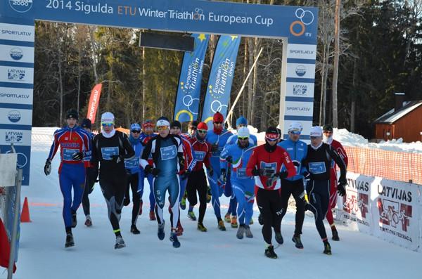 """Noslēdzies """"Sport2000"""" Latvijas čempionāts Ziemas triatlonā"""