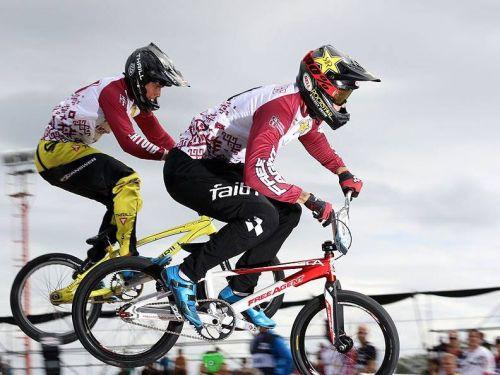 Latviešu trio Argentīnā uzsāk Olimpisko BMX sezonu