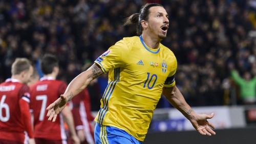 """Zviedrija nosauc sastāvu """"Euro 2016"""" ar Ibrahīmoviču priekšgalā"""