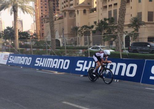 Neilands uzrāda 46. rezultātu pasaules U23 čempionāta individuālajā braucienā