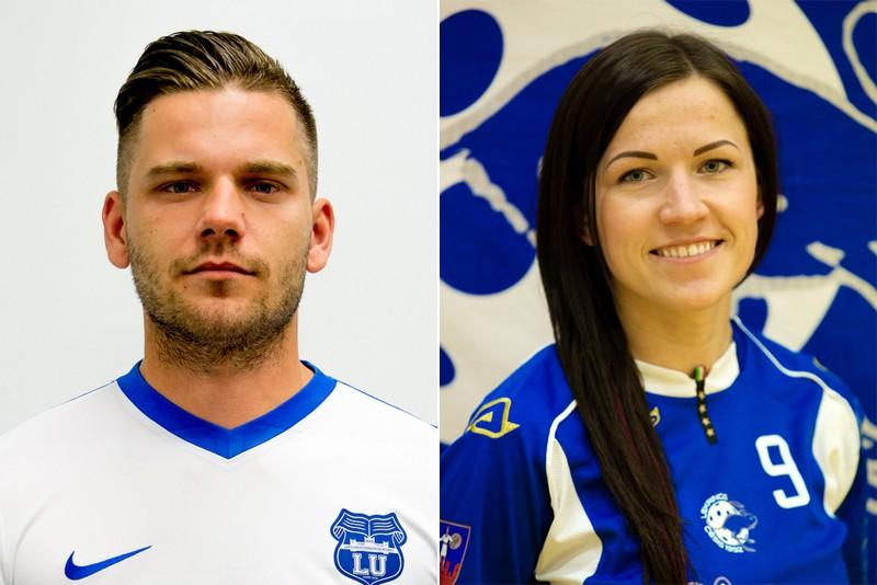 Sporta Punkts mēneša spēlētāji – Egle un Paulovičs