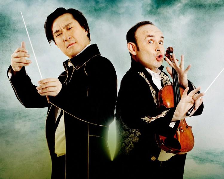 """Nevaldāms simfoniskais karuselis Latvijas Nacionālajā operā - """"Igudesman&Joo"""" jaunais šovs """"UpBeat"""" 1. un 2. aprīlī"""