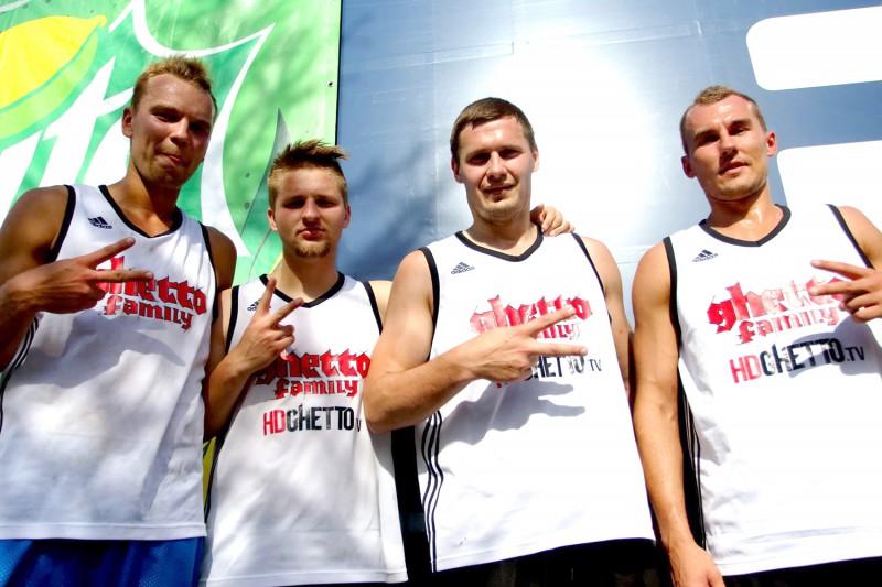 """""""Ghetto Basket"""" 3x3 basketbolisti izcīna otro vietu Igaunijas čempionāta Pērnavas posmā"""