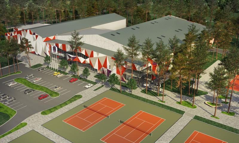 """Valsts kontrole norāda uz līdzekļu izšķiešanu tenisa centrā """"Lielupe"""", IZM nepiekrīt"""