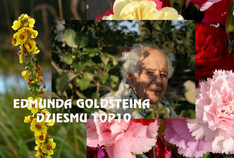 Jubilāru godinot. Komponista Edmunda Goldšteina dziesmu TOP10