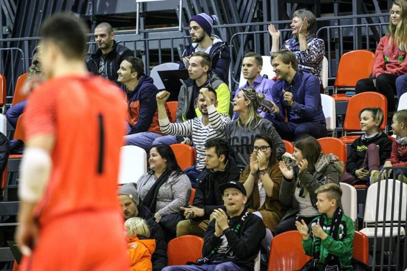 Virslīgas čempionāts telpu futbolā atsāksies Valmierā un Saulkrastos
