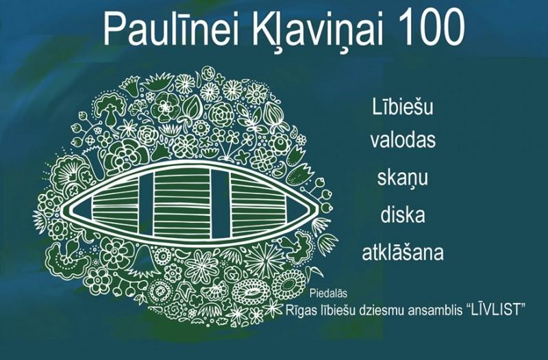 Šodien aicina atzīmēt Paulīnes Kļaviņas 100 gadu jubileju