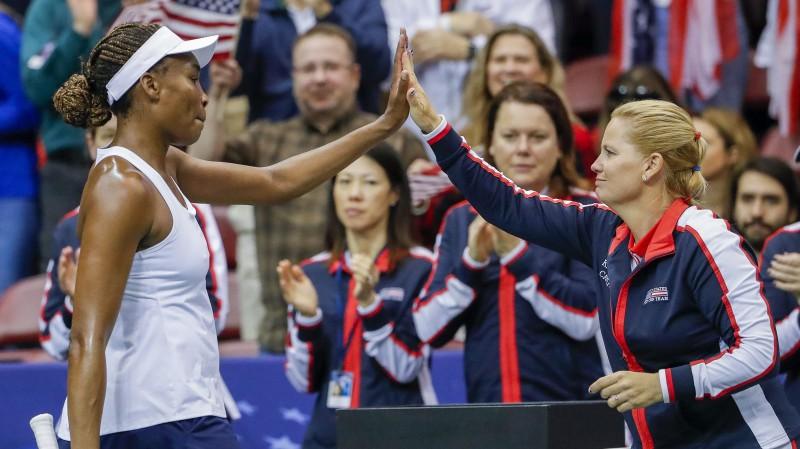 """""""Fed Cup"""" pusfināli: ASV pret Franciju un Čehijas tikšanās ar Vāciju"""