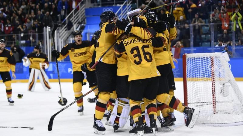 Fenomenālie vācieši turpina uguņot un izjauc hokeja klasiku finālā