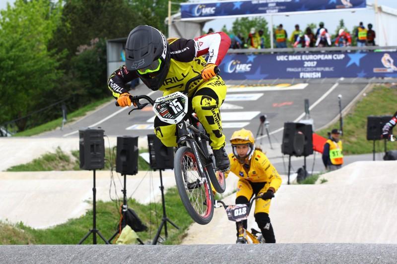 Pētersone labāko desmitniekā Pasaules kausa posmā BMX superkrosā