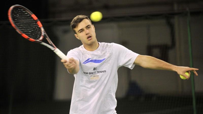 """Rīgas """"Futures"""" turnīra pamatsacensībās vietu garantējuši divi vietējie tenisisti"""