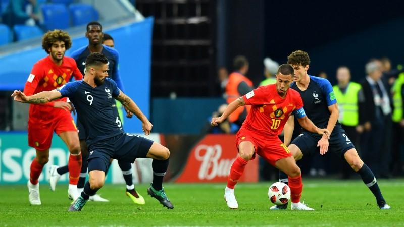 Teksta tiešraide: Francija - Beļģija 1:0 (spēle galā)