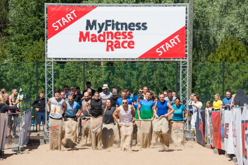 Svētdien Lucavsalā notiks MyFitness Madness Race šķēršļu skrējiens