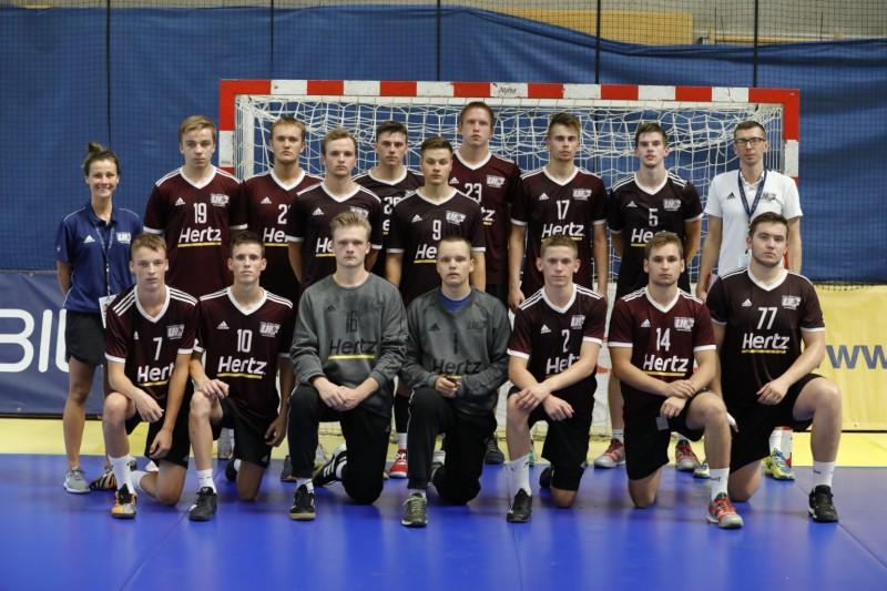 Latvijas U18 izlase zaudē Melnkalnei un B divīzijā iegūst astoto vietu
