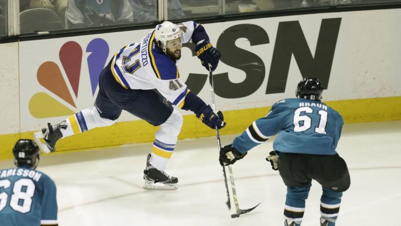 """""""Blues"""" aizsargam pārbaudes spēlē nopelnītā diskvalifikācija liegs sākt regulāro sezonu"""