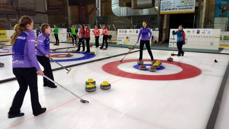 Tukuma kērlinga turnīrā uzvar Somija un Skotija, Latvijas komandām 3. un 4. vieta