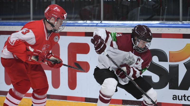 Fjodorovs piedalās abos vārtos, Latvijas U20 izlase uzvar arī mājiniekus dāņus
