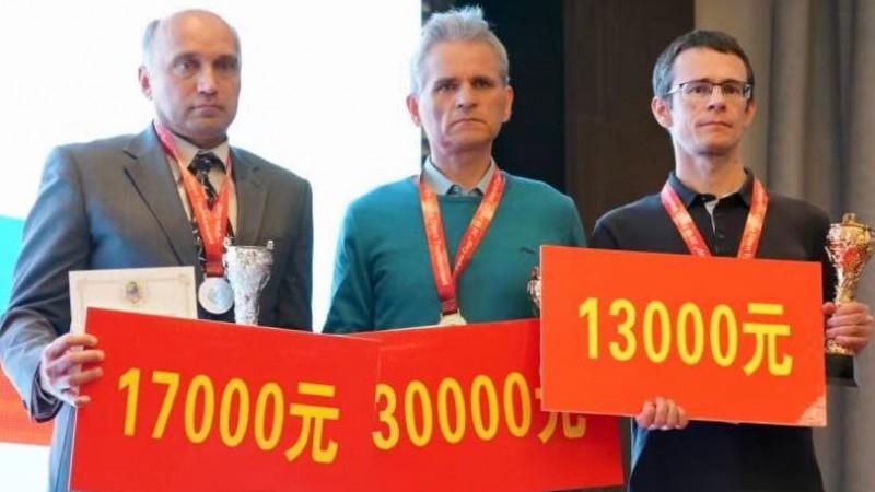 Dambretists Valneris izcīnījis trešo vietu Pasaules kausa kopvērtējumā