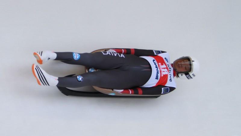 Arī Kalgari Bērziņš otrajā vietā, līdz uzvarai 0,017 sekundes