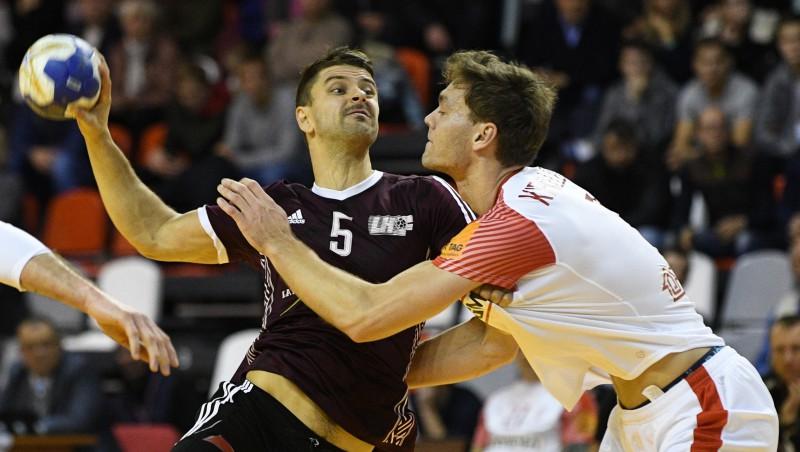 Latvija Domes kausu turpinās pret Ukrainu, tiešraide Sportacentrs.com TV
