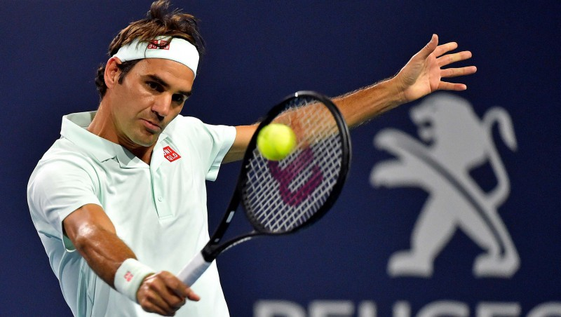 """Federers izceļas ar """"sauso"""" setu, Andersonam atdod tikai četrus geimus"""