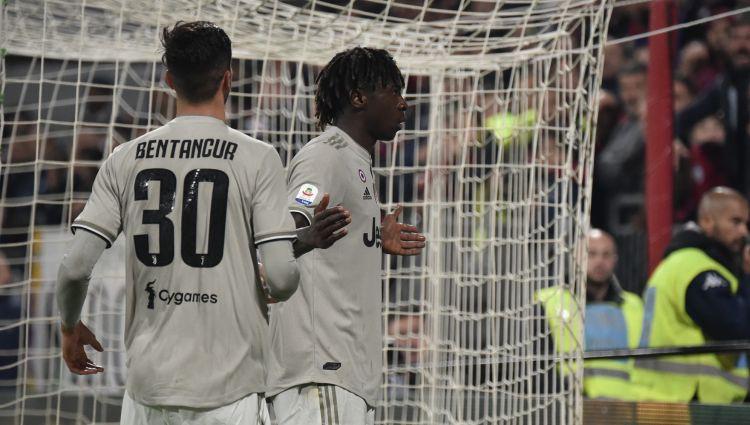 """Jaunais Kens līdzjutēju rasistiskiem saukļiem atbild ar vārtiem """"Juventus"""" uzvarā"""