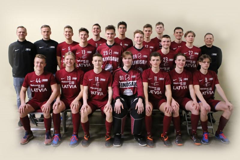 Paziņots Latvijas U19 izlases sastāvs pasaules čempionātam Kanādā