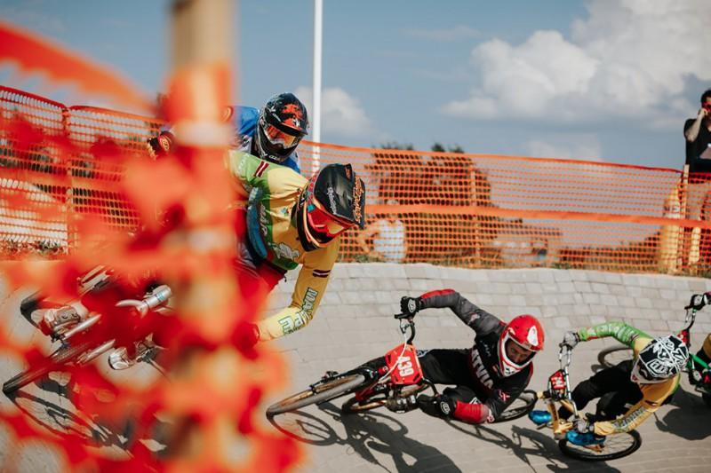 Ar vērienu Mārupē aizvadīts ''SMScredit.lv BMX čempionāta'' trešais posms