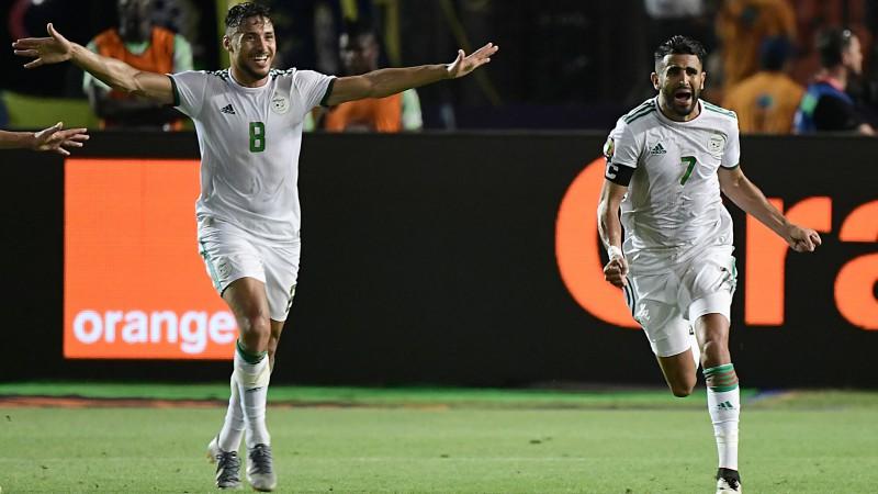 Mahrezs pēdējā sekundē izrauj vietu Alžīrijai Āfrikas Nāciju kausa finālā