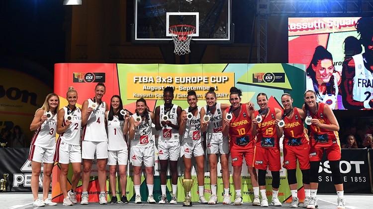 Pēc sekmīgā Eiropas čempionāta LBS pēkšņi izveido 3x3 basketbola dāmu sēriju