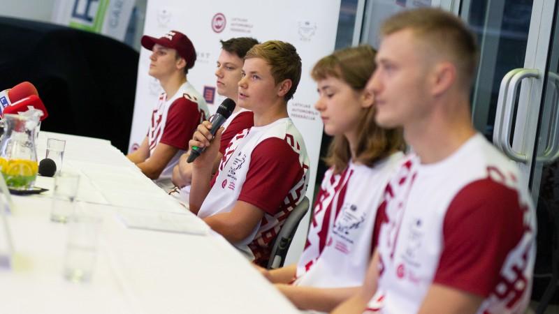 Latvijas komanda gatava ''FIA Motorsport Games'' sacensībām