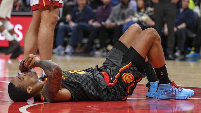 """""""Hawks"""" basketbolistam Kolinsam 25 spēļu diskvalifikācija par dopinga pārkāpumu"""