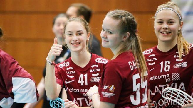 Elvi sieviešu līgā iesaistās Latvijas U-19 izlase