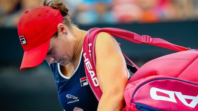 WTA ranga līdere Bārtija sezonu sāk ar zaudējumu Brisbenā