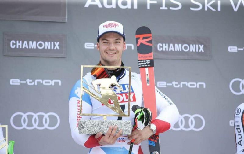 Šveices fināls paralēlajā milzu slalomā un uzvara Garmišā-Partenkirhenē