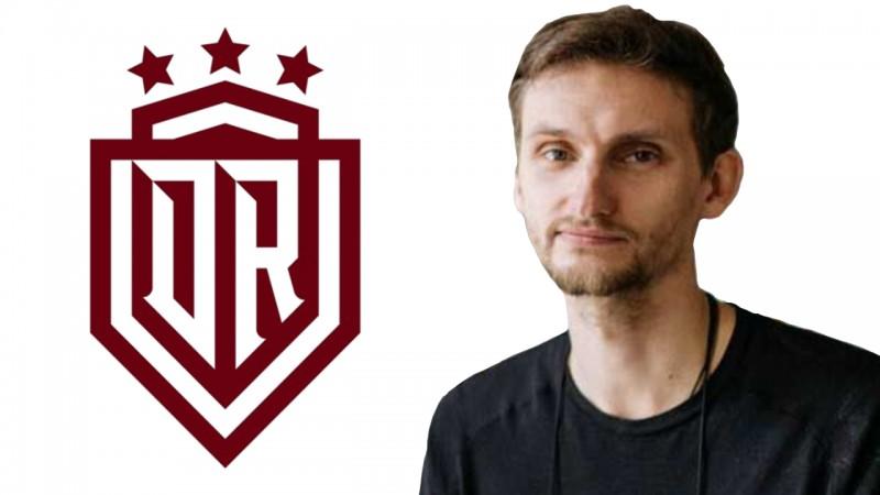 """Grafikas dizainers Baštiks slavē jauno """"Dinamo"""" logo un laiku, kad tas prezentēts"""