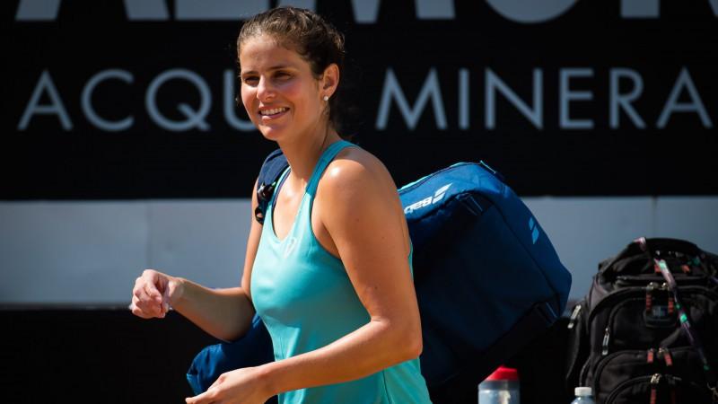 Septiņu WTA titulu ieguvēja Gērgesa atvadās no profesionālā tenisa