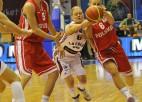 Polietes laimīgas, ka pēc sagrāves pret Latviju izdevies uzvarēt Grieķiju