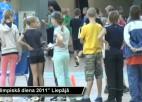 """Video: """"Olimpiskā diena 2011"""" Liepājā"""