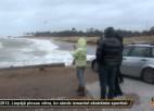 Video: Ekstrēmā sporta cienītājiem vētra kā uz pasūtījumu