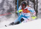 Onskulim 28. vieta slalomā, uzvar Matss