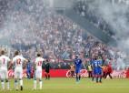 Modričs nespēlēs pret Spāniju, treneris fanus sauc par teroristiem