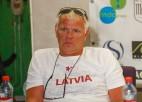 Birzulis un Iecelnieks - junioru pludmales volejbola izlašu galvenie treneri