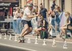 Kuzmins kļūst par Eiropas čempionu skeitborda slalomā