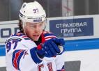 Gusevs pēc divām sezonām NHL un neizturēta pārbaudes laika atgriežas SKA