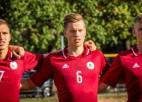 """Uz U-21 izlasi izsaukti astoņi """"Mettas"""" spēlētāji, divi futbolisti no 1. līgas klubiem"""