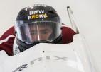 Bērziņš kļūst par divkārtēju Eiropas junioru vicečempionu bobslejā